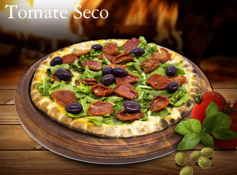 Pizza sabor tomate seco